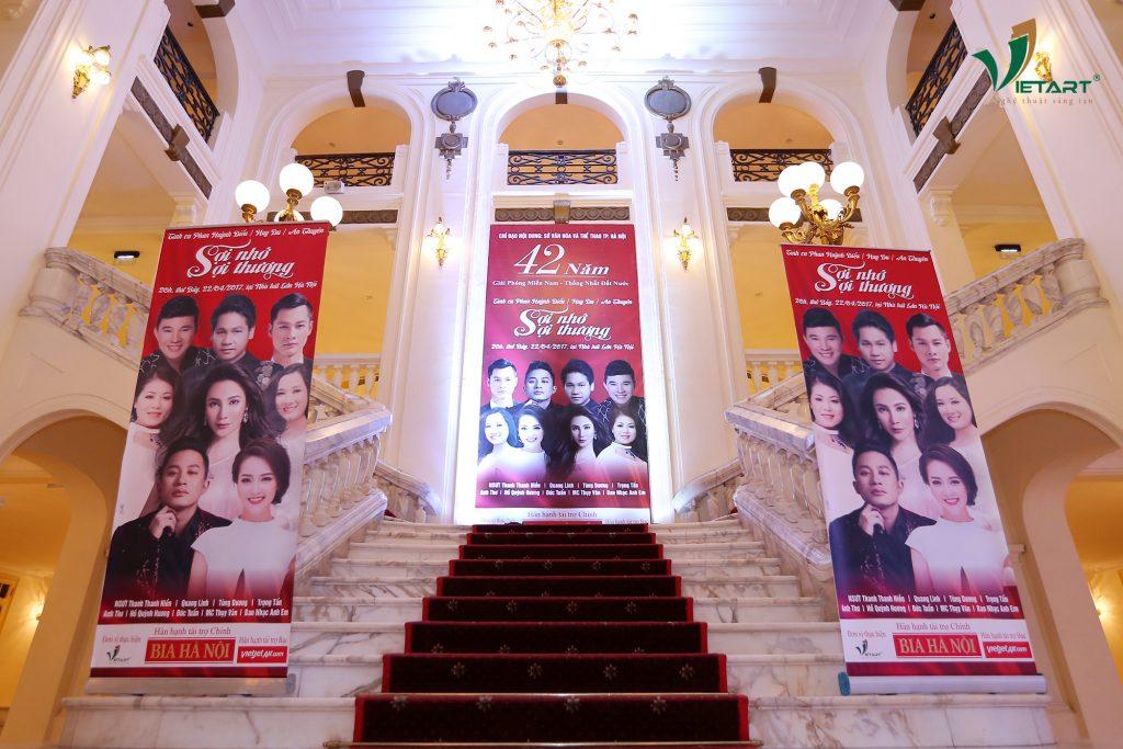 Sợi nhớ sợi thương 22/04/2017 tổ chức tại nhà hát Lớn Hà Nội