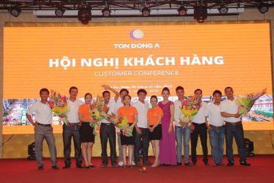 Hình ảnh tổ chức sự kiện hội nghị khách hàng