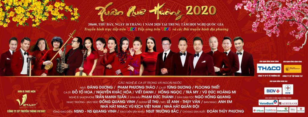 XUAN QUE HUONG 2020 –  spread GETS TO PEOPLE WITH ETHNICITY