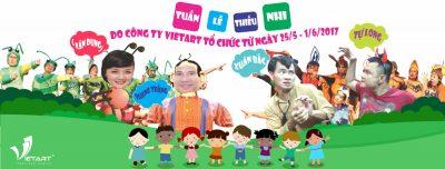 Tuần lễ thiếu nhi 2017 do VietArt tổ chức từ 25/5 – 1/6/2017