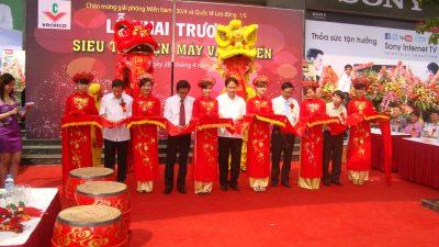 Hình ảnh tổ chức sự kiện doanh nghiệp lễ khai trương