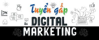 Tuyển dụng chuyên viên Digital Marketing
