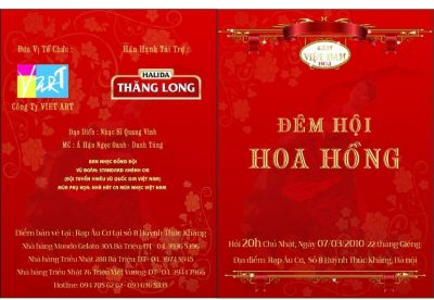 Đêm Việt Nam 1 - Đêm Hội Hoa Hồng