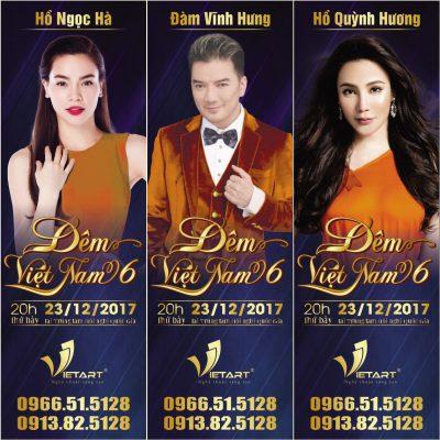 Bộ 3 giám khảo X-Factor hội ngộ tại Đêm Việt Nam 6