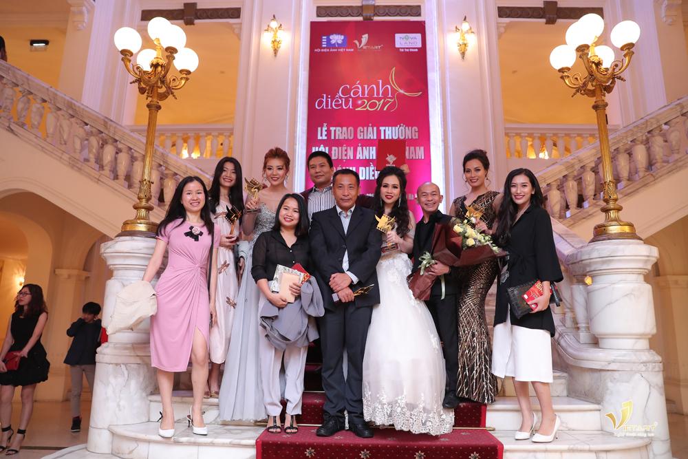 Vietart công ty tổ chức sự kiện - Lễ trao giải cánh diều 2017