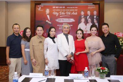 Liveshow 50 năm NSND Quang Thọ – Hãy Đến Với Anh được tổ chức tại Hà Nội