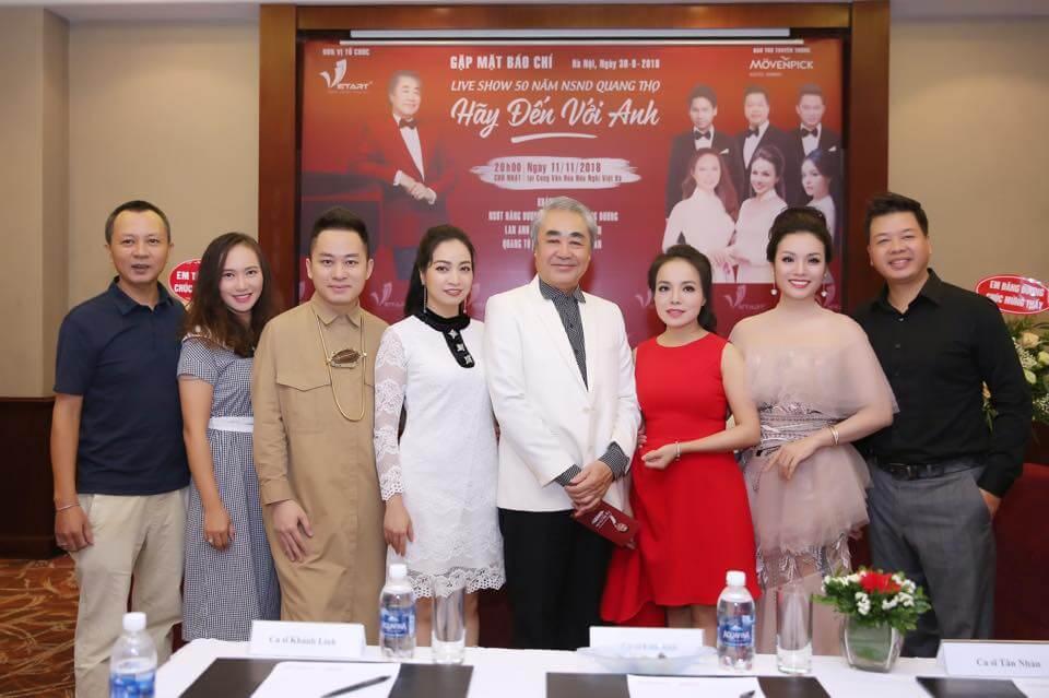 Tổ chức Liveshow ca nhạc NSnd Quang Thọ