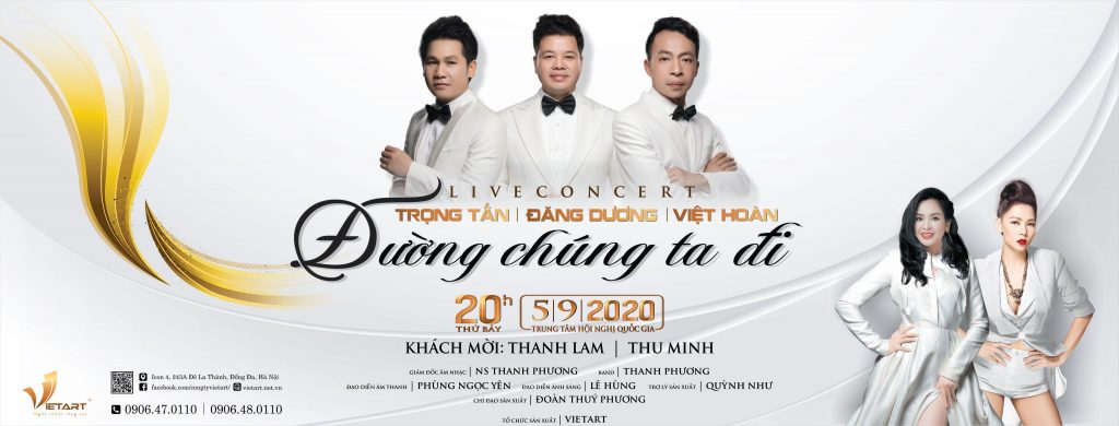 """LIVE CONCERT """"ĐƯỜNG CHÚNG TA ĐI"""" SỰ TRỞ LẠI HUY HOÀNG"""