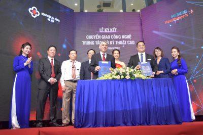 Vietart tổ chức thành công Lễ ra mắt Hệ thống trung tâm kỹ thuật cao tại Bệnh viện đa khoa Hà Nội